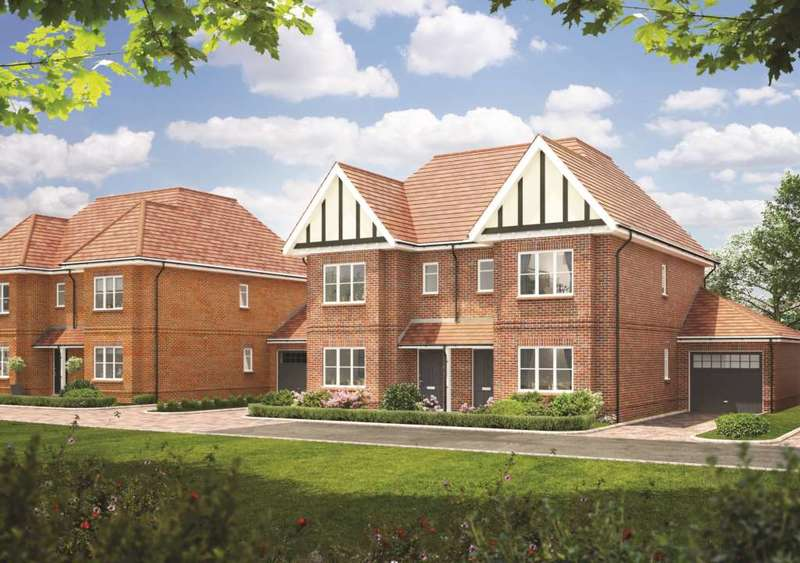 4 Bedrooms Semi Detached House for sale in Akeman Mews, Weston Turville