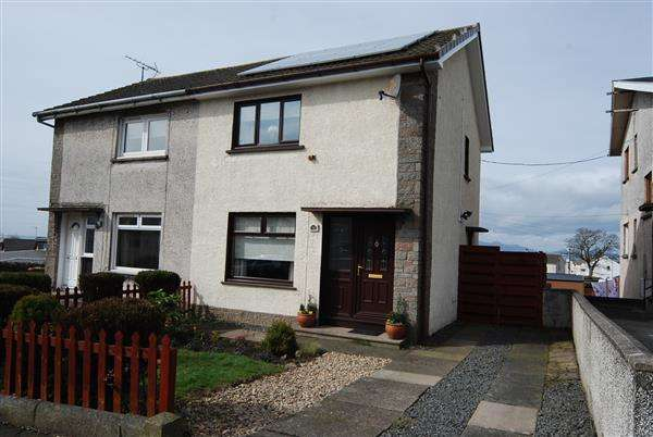 2 Bedrooms Semi Detached House for sale in Saughtree Avenue, Saltcoats