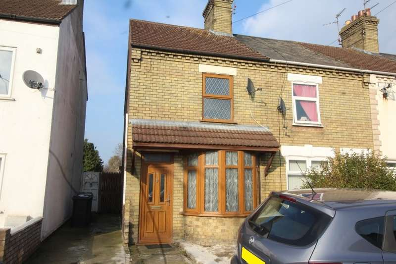 2 Bedrooms End Of Terrace House for sale in Fengate, Peterborough, PE1 5BA