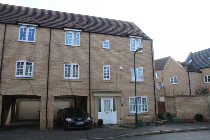 5 Bedrooms Town House for sale in Baldwin Drive, Sugar Way, Peterborough, PE2 9SD