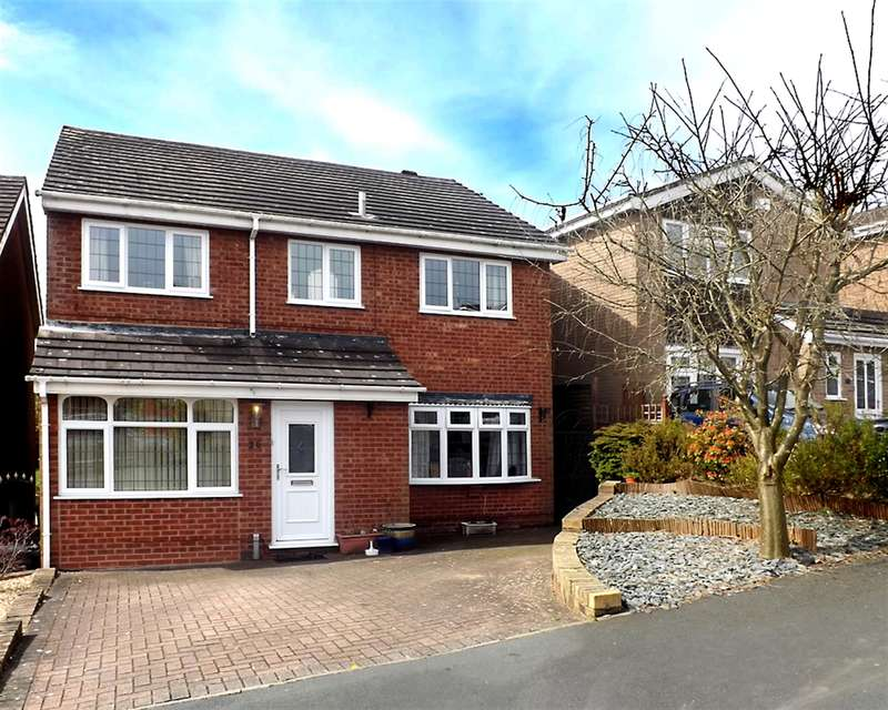 4 Bedrooms Detached House for sale in Nuthatch Drive, Stourbridge, West Midlands , DY5 2RF