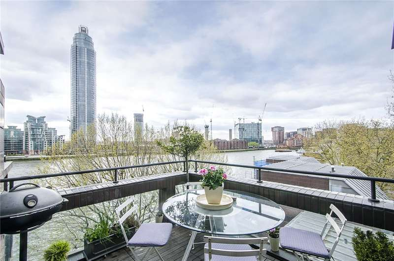 3 Bedrooms Flat for sale in Crown Reach, 145 Grosvenor Road, London, SW1V