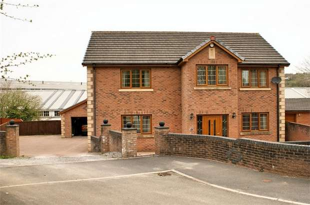 4 Bedrooms Detached House for sale in Cil Yr Onnen, Llangennech, Llanelli, Carmarthenshire