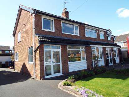 3 Bedrooms Semi Detached House for sale in Field Close, Marple, Stockport, Cheshire
