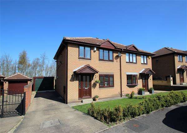 3 Bedrooms Semi Detached House for sale in Meadow Croft, Hemsworth