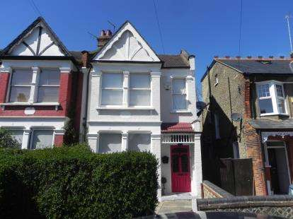 3 Bedrooms End Of Terrace House for sale in Goldsmith Road, London