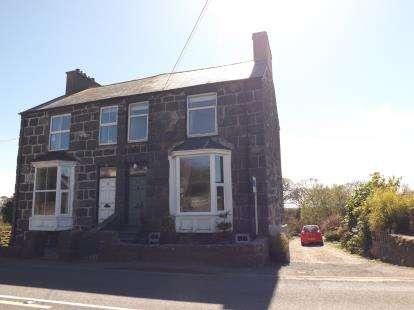 Semi Detached House for sale in Bodawen, Llanystumdwy, Criccieth, Gwynedd, LL52