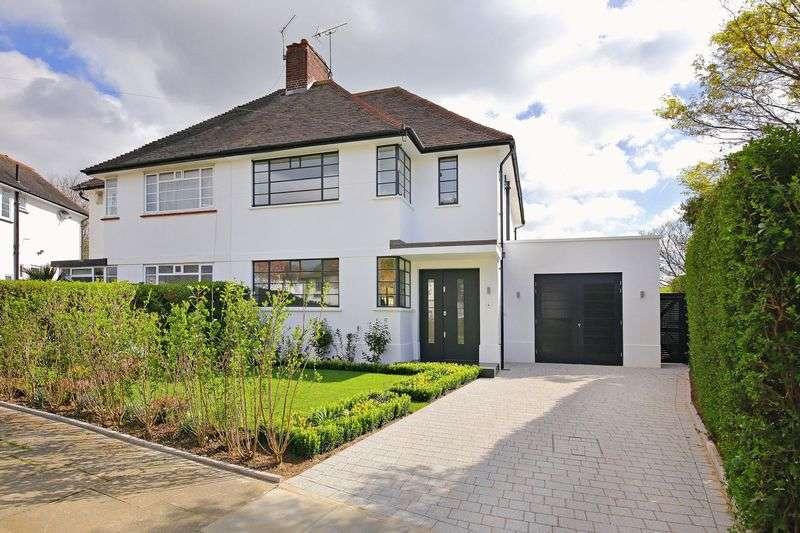 4 Bedrooms Semi Detached House for sale in Howard Walk, Hampstead Garden Suburb, London N2