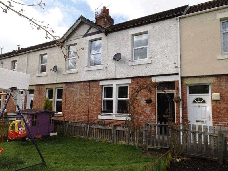 3 Bedrooms Terraced House for sale in Allery Banks, Morpeth - Three Bedroom Terrace House