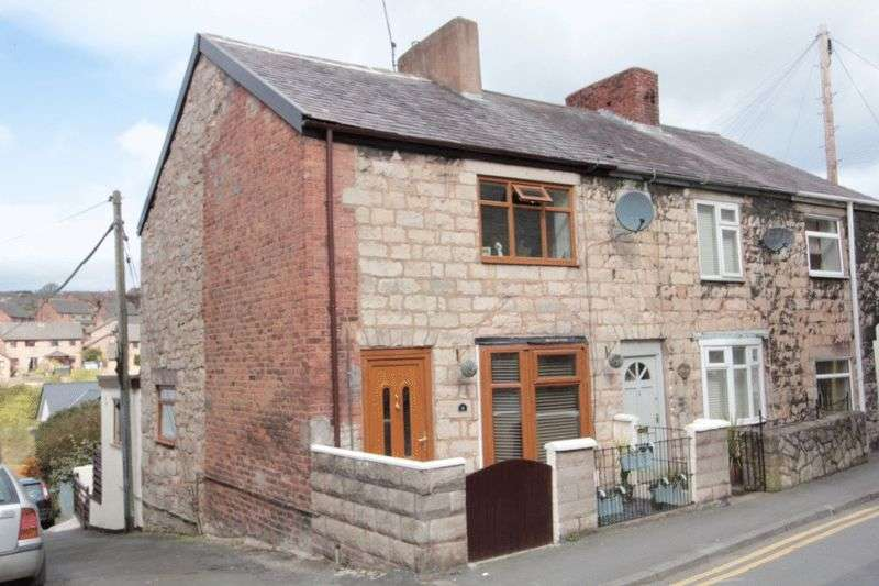 2 Bedrooms Terraced House for sale in Chapel Place, Denbigh