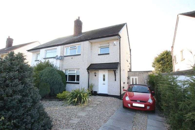 3 Bedrooms Semi Detached House for sale in Fulton Avenue, West Kirby, Wirral