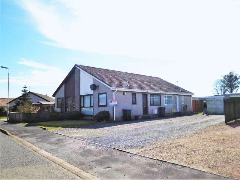 1 Bedroom Semi Detached House for sale in WOW! Terrace Bungalow with Garage For quick sale Blackcraig Road, Peterhead