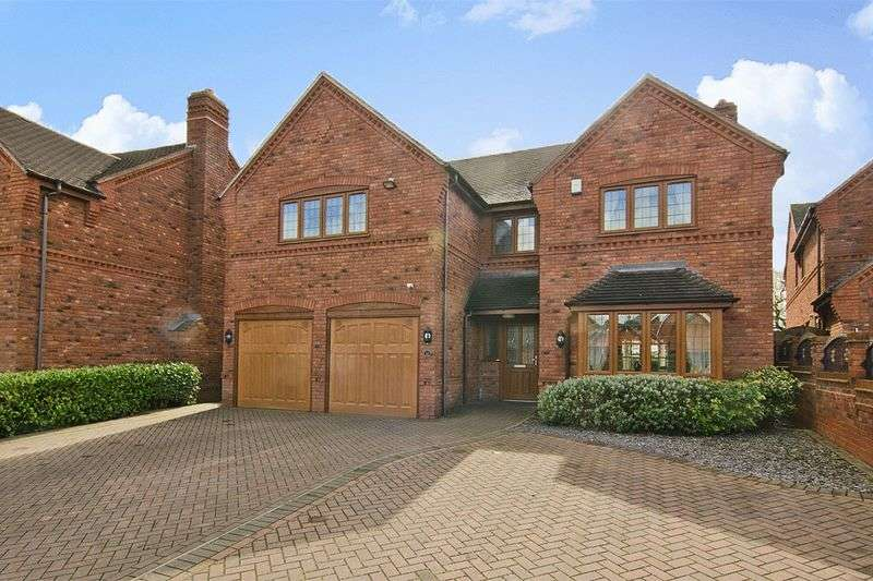 5 Bedrooms Detached House for sale in Jacobs Hall Lane, Great Wyrley, Walsall
