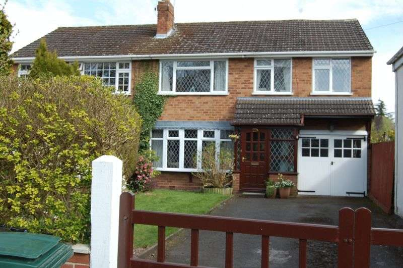4 Bedrooms Semi Detached House for sale in Church Road, Albrighton