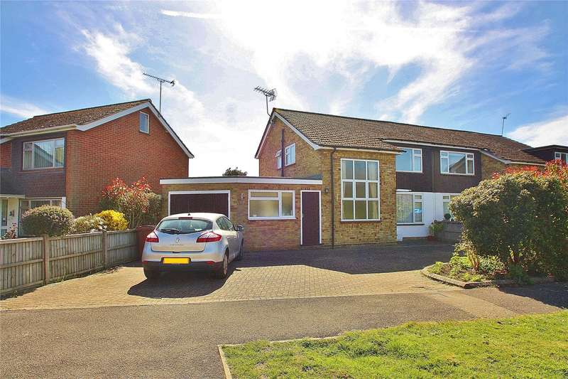 3 Bedrooms Semi Detached House for sale in Barnsford Crescent, West End, Woking, Surrey, GU24