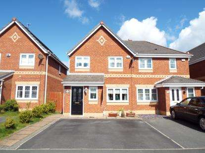 3 Bedrooms Semi Detached House for sale in Ambleside Drive, Kirkby, Liverpool, Merseyside, L33