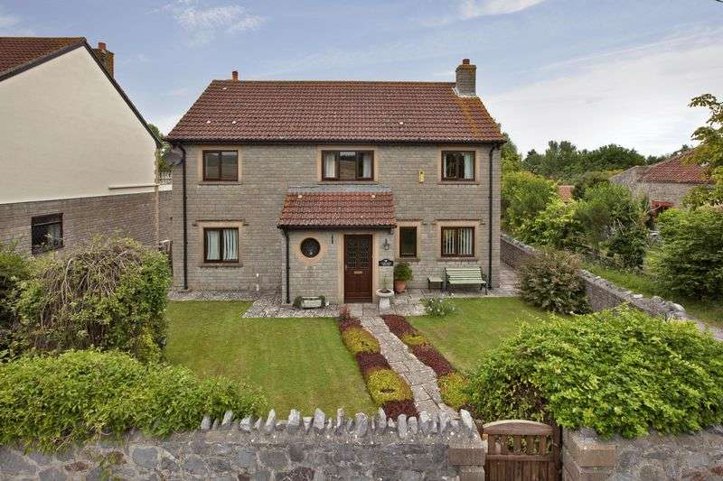 4 Bedrooms Detached House for sale in Stockland Bristol, Nr. Bridgwater