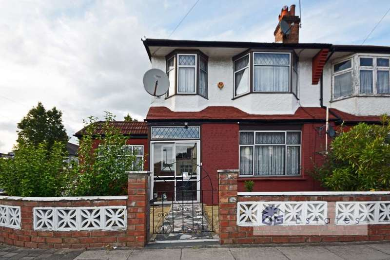 4 Bedrooms Semi Detached House for sale in Princess Avenue, Palmers Green