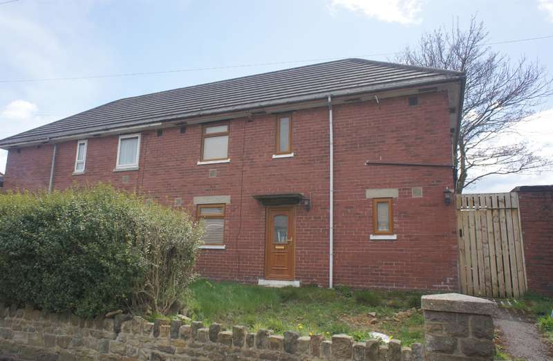 3 Bedrooms Semi Detached House for sale in Kenworthy Road , Stocksbridge, Sheffield , S36 1BY