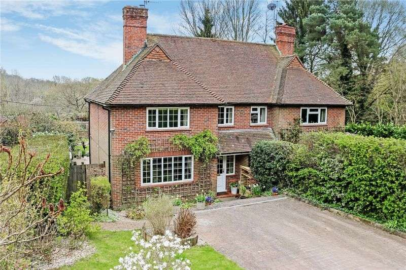 3 Bedrooms Semi Detached House for sale in Hambledon, Nr. Godalming