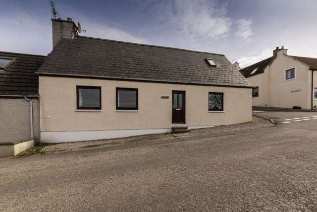 3 Bedrooms Semi Detached House for sale in 1 Castle Street, Portmahomack, Near Tain, Highland, IV20 1YE