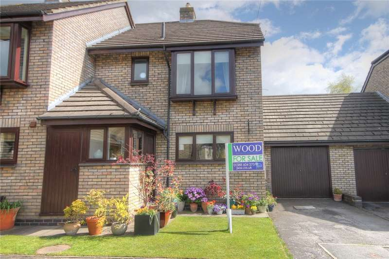 3 Bedrooms Semi Detached House for sale in Ladysmith Close, Bishop Auckland, Co. Durham, DL14