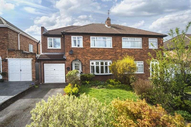4 Bedrooms Semi Detached House for sale in Derwent Road, Palmers Cross, Wolverhampton