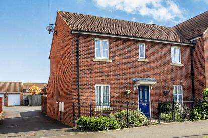 4 Bedrooms Semi Detached House for sale in Candy Street, Sugar Way, Peterborough, Cambridgeshire