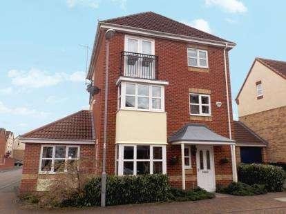 5 Bedrooms Detached House for sale in Pagett Close, Hucknall, Nottingham, Nottinghamshire