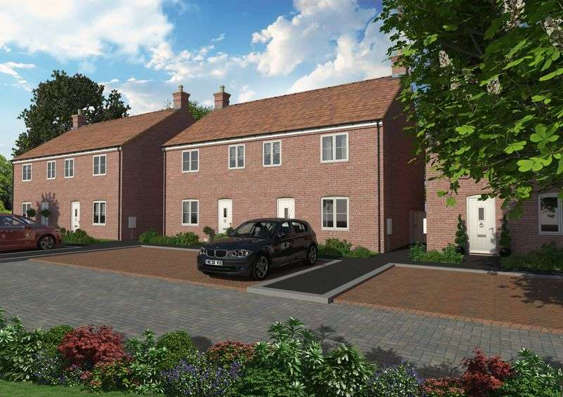 3 Bedrooms Semi Detached House for sale in Crown View, Hodge Bower, Ironbridge, Telford, Shropshire.
