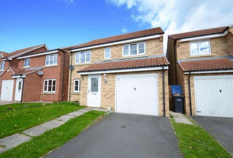 4 Bedrooms Detached House for sale in Kestrel Way, Durham