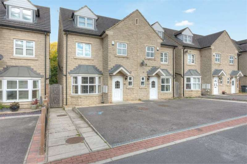 4 Bedrooms Semi Detached House for sale in Hebble Court, Thornhill Lees