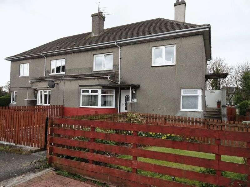 2 Bedrooms Flat for sale in Dumbuie Avenue, Dumbarton