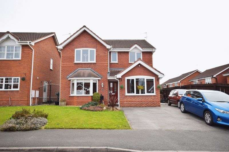 4 Bedrooms Detached House for sale in Alicia Way, Baddeley Green