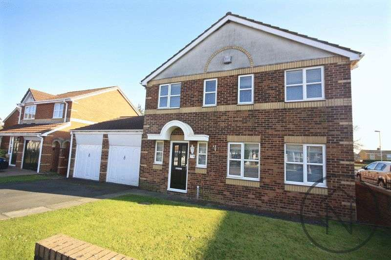 4 Bedrooms Detached House for sale in St. Oswalds Court, Newton Aycliffe
