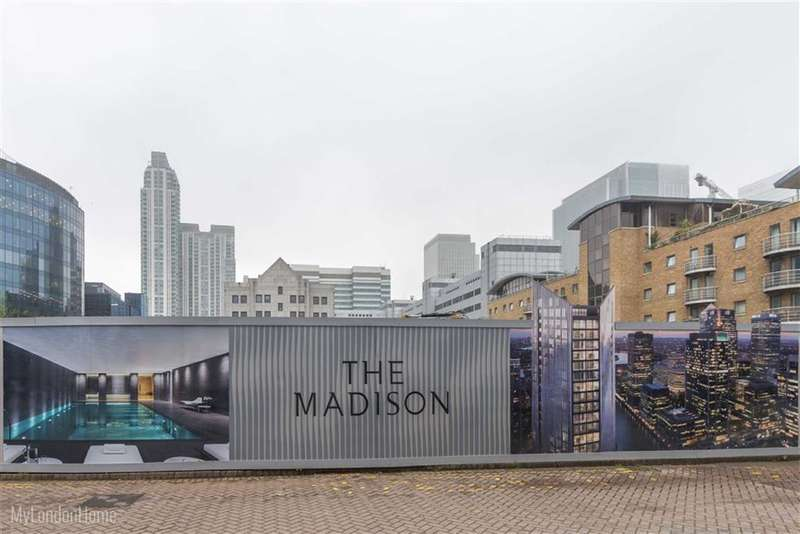 Property for sale in The Madison, Canary Wharf, London, E14