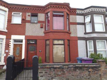 3 Bedrooms Terraced House for sale in Cambridge Road, Walton, Liverpool, Merseyside, L9