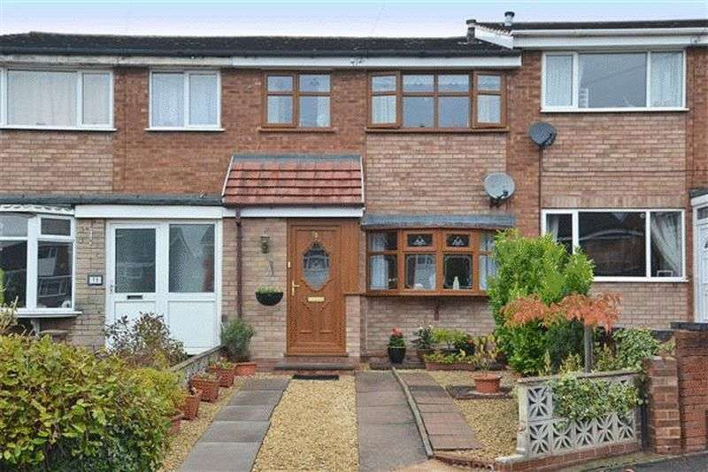 3 Bedrooms Terraced House for sale in Manor Rise, Burntwood