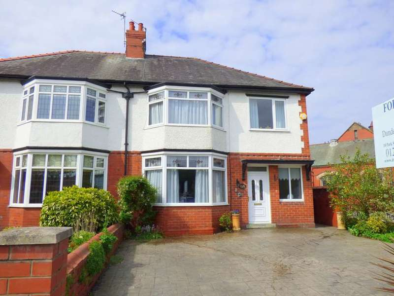 4 Bedrooms Semi Detached House for sale in Blackpool Road, Ansdell
