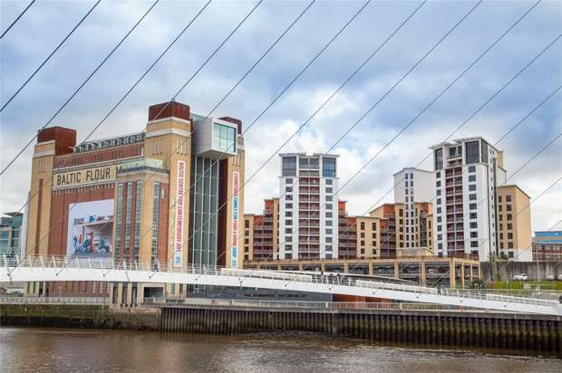 3 Bedrooms Flat for sale in Baltic Quay, Mill Road, Gateshead, Tyne and Wear