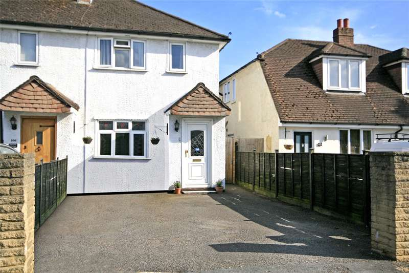 3 Bedrooms End Of Terrace House for sale in Church Road, Byfleet, West Byfleet, Surrey, KT14