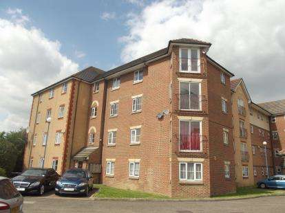 2 Bedrooms Flat for sale in Great Galley Close, Barking