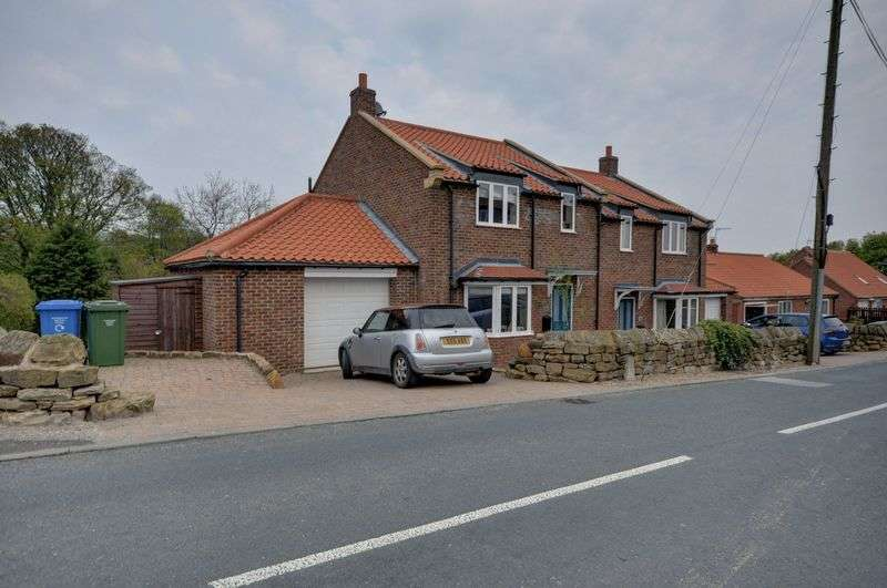 4 Bedrooms Semi Detached House for sale in Sled Gates, Fylingthorpe