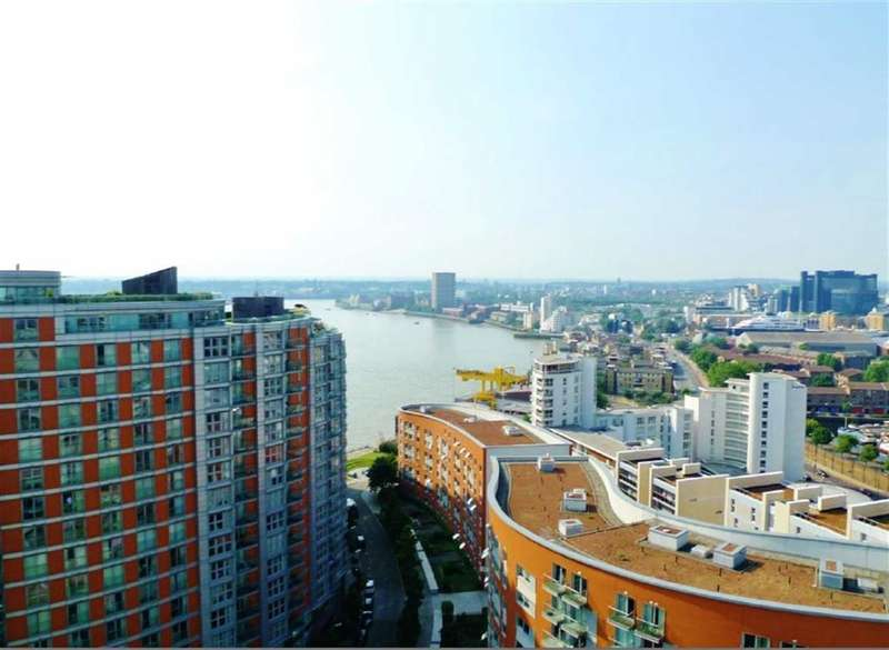 3 Bedrooms Property for sale in Providence Tower, Canary Wharf, London