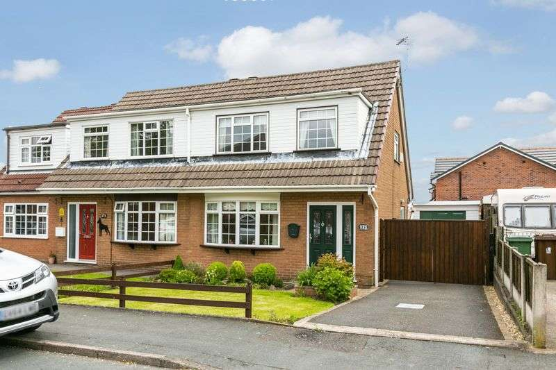 3 Bedrooms Semi Detached House for sale in Bradley Lane, Standish, WN6 0NA