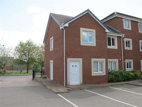 2 Bedrooms Apartment Flat for sale in Railway Court, Railway Street, Norton Canes, Cannock