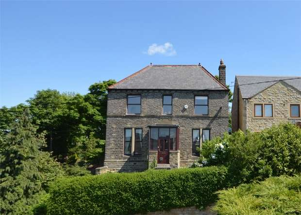 4 Bedrooms Detached House for sale in Highfield Lane, Lascelles Hall, HUDDERSFIELD, West Yorkshire