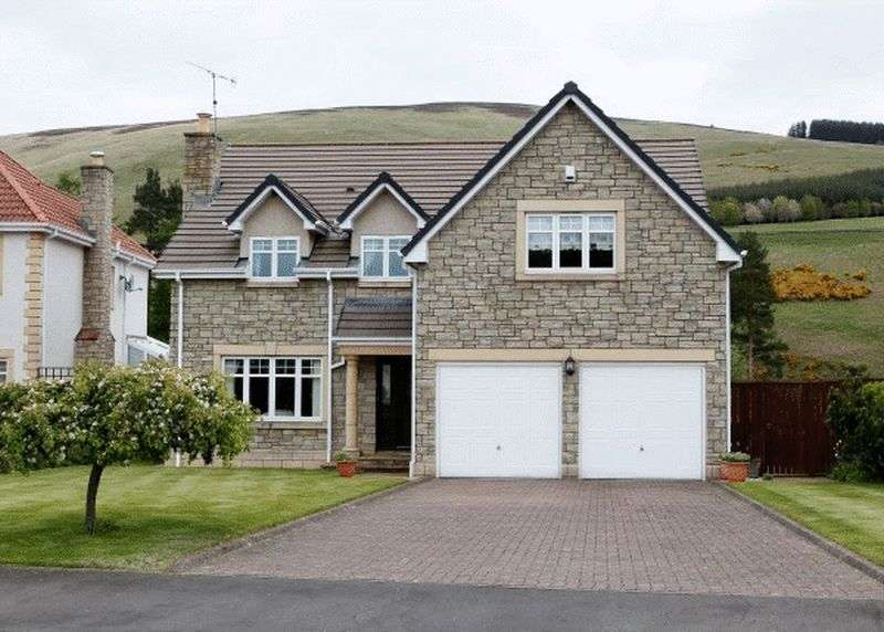 4 Bedrooms Detached House for sale in 23 St. Bryde's Way, Cardrona, Peebles.