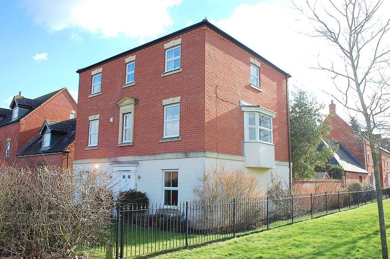 6 Bedrooms Detached House for sale in Sandfield Meadow, Lichfield, WS13 6NH