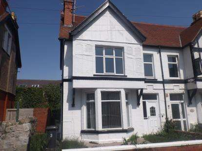 3 Bedrooms Maisonette Flat for sale in Maelgwyn Road, Llandudno, Conwy, LL30
